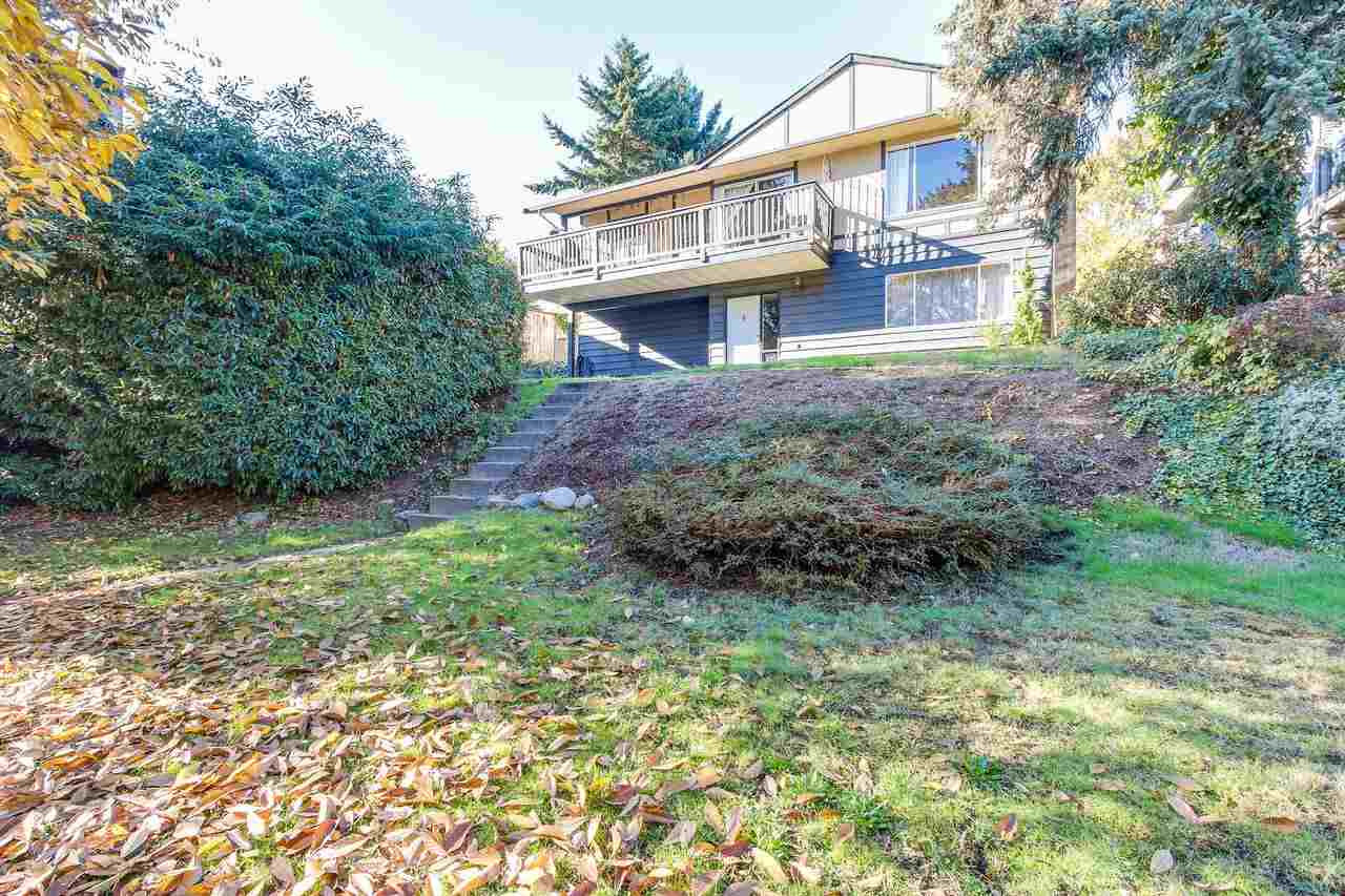 HUGE 11,038 SQ FT PRIVATE LOT WITH LANE ACCESS!! Check with City of North Van for COACH HOUSE OPTIONS! Great location close to everything. 3 bedrooms up with 2 more bedrooms down. Master bedroom retreat on the lower level features a spa like ensuite and private sitting area and fireplace. A great family home with 5 bedroom and 3 full washrooms! Lower level was previously a suite with separate entrance. Double detached garage with 220 volt supply, plus carport, plus parking for an additional 3 vehicles & RV! Great value in a great neighborhood!