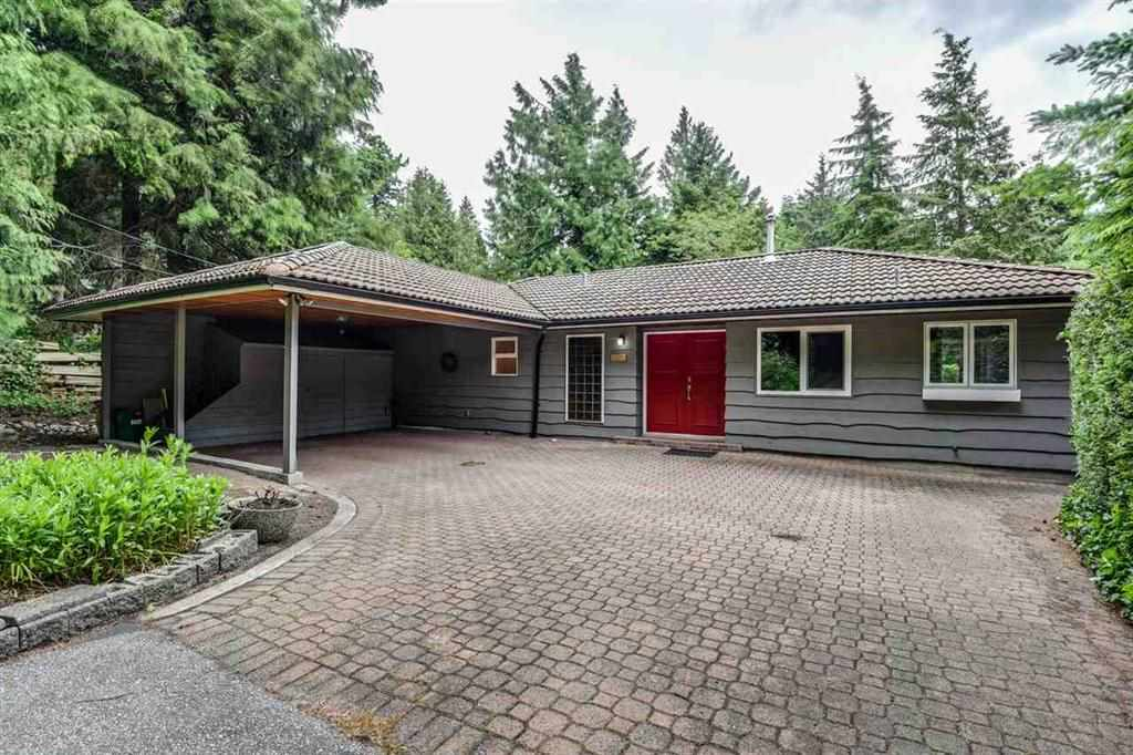 This charming bungalow is set on a 17,860 sq ft property that backs onto the beautifully kept Gleneagles Golf Course. This property is perfect for buyers who want to bring their own ideas forward for a renovation or for potential builders looking for a privately set large lot. This highly sought upon family neighborhood is both quiet, family oriented and desirable. Just a few minute walk away from Gleneagles Elementary school, Gleneagles Community Center, Whytecliff Park, and many shops and restaurants in the quaint yet growing Horseshoe Bay. Set privately with gorgeous green space surrounding the home, you will surely love living in this natural setting and neighborhood.