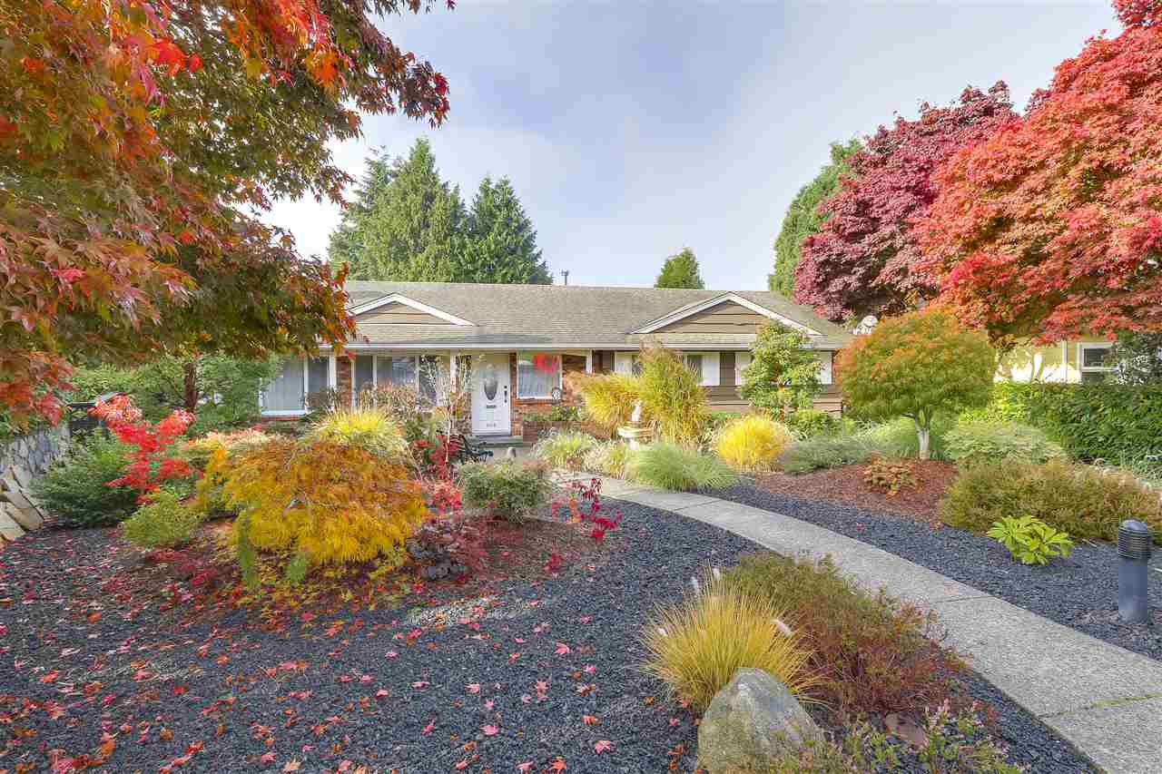"""A Large Solid 5 Bedroom Home with a 1400"""" Glass Covered Deck overlooking a Private Oasis in your Backyard. Enjoy the peaceful surroundings including your waterfall/pond filled with elegant Koi fish. One of the Largest Lots in North Burnaby on a Cul-de-sac Street with an active Block Watch Program. Paved Back Lane Access to 2 Parking Heated Garage, 5 Car Carport and parking for a Camper. Additional Parking space is available on the property. Fully secured/gated perimeter. Close to Kensington Park with its pitch and putt facilities and a nearby ice areana with well-lit sport fields. Two elementary schools Aubrey and Parkcrest. A must see to appreciate and all this home has to offer. OPEN HOUSE SAT, NOV 18TH BY APPOINTMENT ONLY."""