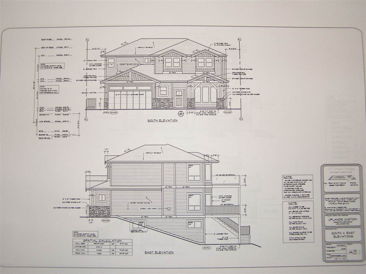 Executive 5 bedroom home under construction on Uplands Road with great mountain and valley views. This luxury home comes fully equipped with all the modern comforts that will please the most discriminating buyer. The dream kitchen will have quartz counter tops, double wall over, gas cook top, 2 dishwashers, commercial sized fridge so let the entertaining begin. 20' ceiling in the great room and the bunker will be a 16 x 20 media room plus a huge rec room sure to keep the teenagers occupied. There are 5 bathrooms in the home with 2 ensuites with heated floors and the most deluxe in the master of course which also has a sitting area. There are 3 decks at the back of the house, one of them off the master suite to enjoy the views.