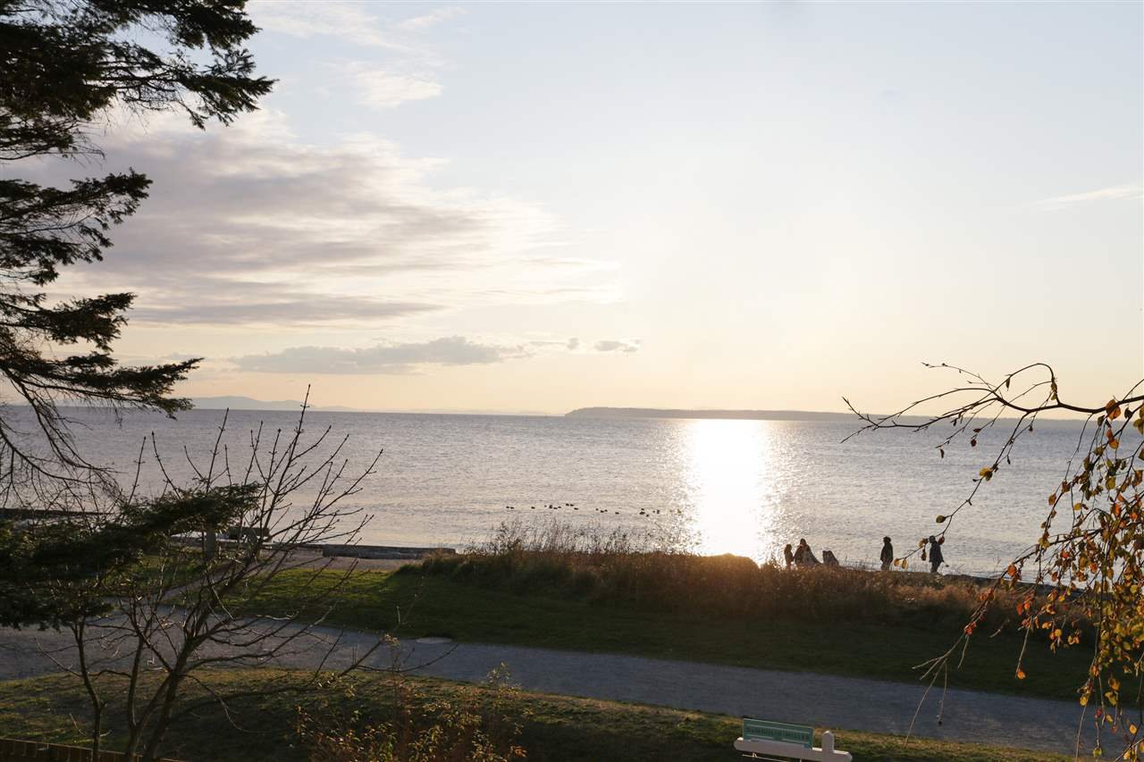 """For the first time in 30 years this remarkable ocean/beach front view home is available for sale. Nestled in the most desirable waterfront location in Crescent Beach Village, this charming 5 bdrm home can only be defined as perfection.  Incredible unobstructed southwest ocean views of Boundary Bay and the Strait of Georgia. Fantastic beach house for the family to share for generations to come, add your personal touches with a remodel or build your forever dream home. 6,000 square foot corner lot gives garage access off of Alexandra Street. This truly is an amazing opportunity to acquire one of the Semiahmoo Peninsula's """"trophy"""" properties in the desired lifestyle community of Crescent Beach."""