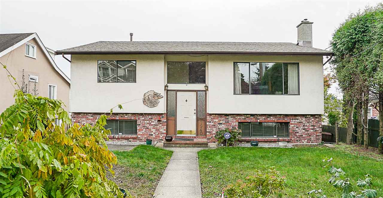Bright & spacious, 34 yr old, 2425 sf, 5 bdrm, 2.5 baths, 2 level home on quiet family friendly West End street close to Skytrain, shopping, schools & parks. This well maintained home features hardwood & laminate floors, 2 gas f/p?s, oak kitchen with newer stainless steel fridge & dishwasher, 3 bdrms + solarium on main, big south facing deck, full height basement, double windows, 3 year old roof, double garage, large 48? x 132? lot, fenced yard & more.