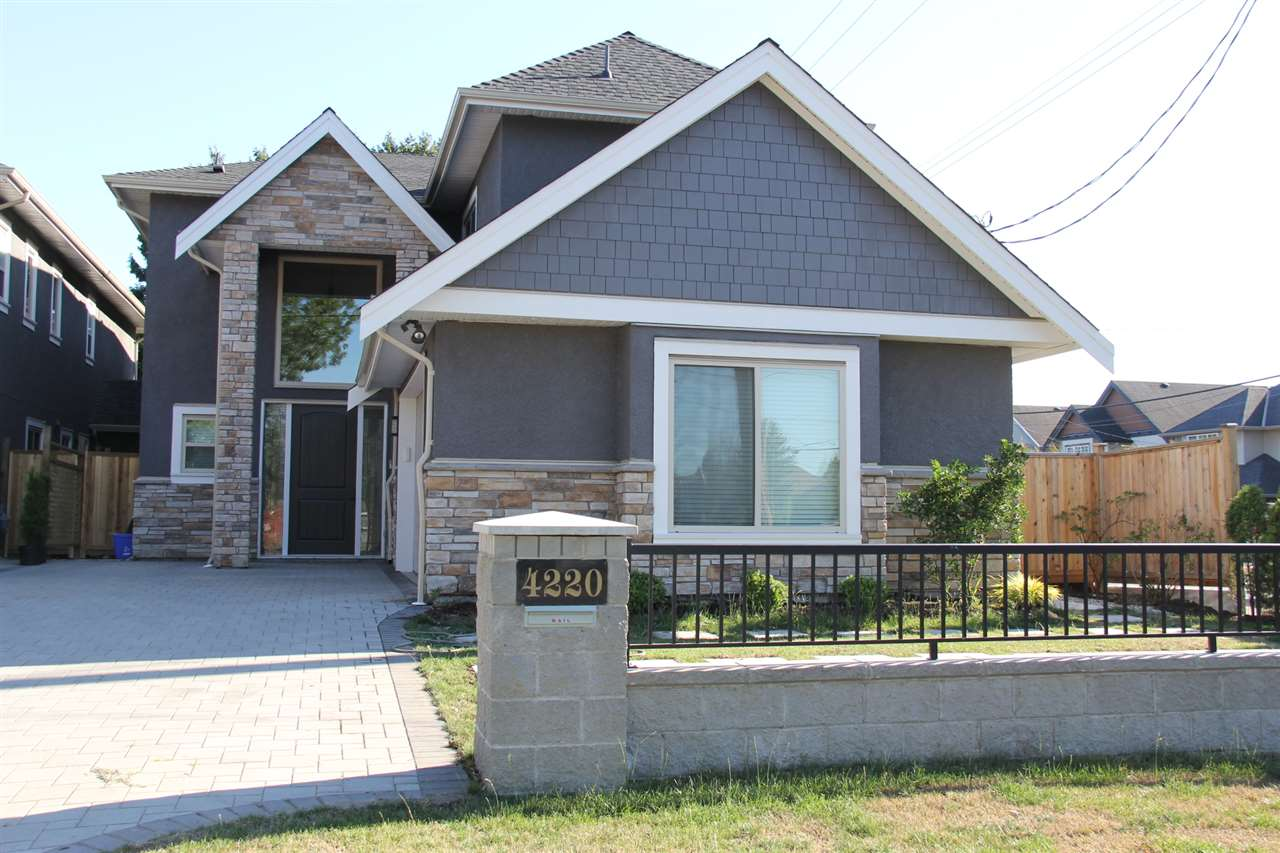 Newly constructed duplex-style home. Boasts over 3,000 sq. ft. of luxury interior space on a 6,039 sq. ft. lot. Unqiue and practical layout with primary living space on 2nd level. Consists of 5 bdrms+5.5 baths+1den+ family room+media room+open/wok kitchens. 9' ceilings on both levels. Potential for two 2-bdrm suites down. Perfect for self live or investment. Easy to show.