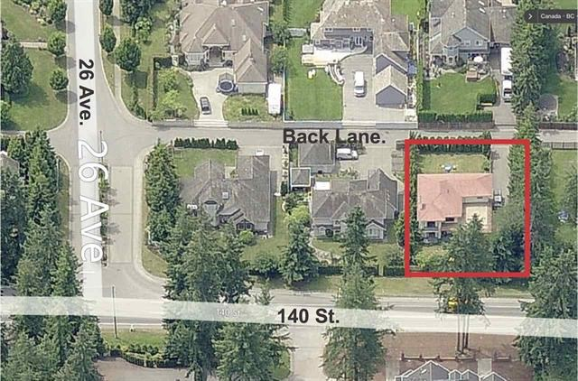 Build or Renovate in the Elgin/Chantrell area, on this 12,066.00 Square foot lot which currently has a 2560 Sq.Ft. home. This popular area is close to some of the Best Schools in the area and also to shopping, amenities, and White Rock Beach. Take advantage of this rare opportunity.