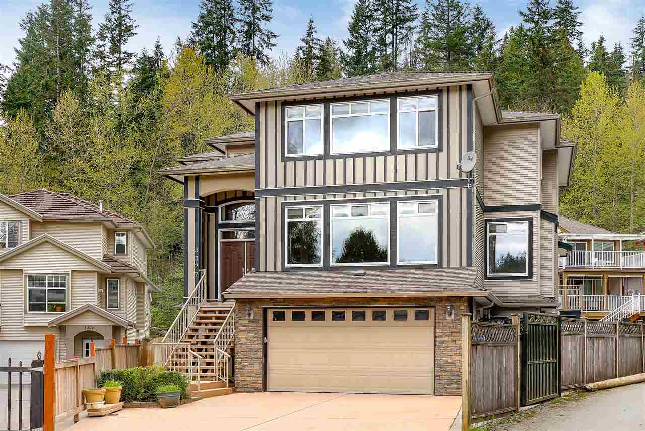 BEST PRICE!! BEST VALUE!! Assessment value 1.562 million. Located in a quiet cul-de-sac with walkway to Coquitlam River trail system, this Hockaday luxury executive home has outstanding quality & design throughout, 5,462 sqft, ONLY 8 yrs old. Central air conditioning w/ heat pump. Gourmet kitchen with high end SS appliances, Huge Ctr Island, Gas range, Granite Counter top, designer cabinets. Separate Wok Kitchen. Upstairs feature 5 bdrms incl. masterbdrm w/ huge walk-in closet, spa-inspired ensuite w/ dbl sinks, luxurious soaker tub. Fully finished TWO suites (2 bdrm LEGAL suite and 1 bdrm guest suite) walk-out bsmt EACH w/separate entrance and own kitchen. Large Rec. rm in bsmt. Great location close to Coquitlam Ctr and the Evergreen line, Douglas College, Lafarge Lake. A MUST SEE.