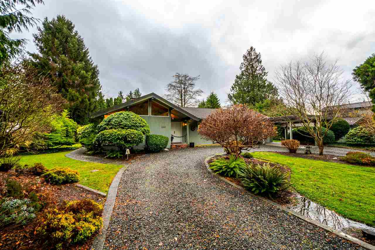 New Price!!  Beautiful spacious rancher on large, rural feeling Southlands lot. Good candidate for subdividing, check with the City of Vancouver ph number 311 to confirm. Buy and hold, buy, subdivide build. South facing back yard. Last home on the dead end of a quiet street. Just down the street from Mcleery and Mcgee high end new subdivision. Bridal path right beside the property, park land across the road. No sign on property as per owners request.