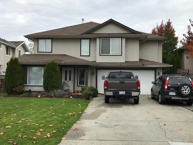 Spacious basement entry home in a very private location in Murrayville. Nice fenced backyard and steps to schools. Four good sized bedrooms and lower level could be easily suited. Great investment that you can enjoy!