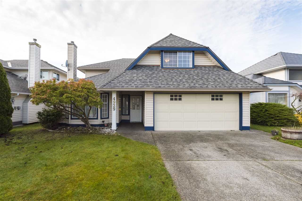 A new home for the holidays!! This well maintained 4 bedroom family home in West Ladner's desirable Cherry Lane neighbourhood, offers over 2,300 sq.ft of living space in an unbeatable location just steps from many local amenities, Ladner Village, parks, schools and transit. Features include a traditional layout with kitchen and formal living & family rooms down, 3 bedrooms upstairs (incl master w/ensuite), plus a large recreation room that could also be a 4th bedroom if needed. You'll enjoy tasteful updates to the kitchen incl granite counters and SS appliances, double garage and sunny, west facing backyard with patio for outdoor entertaining. All this on a quiet, family friendly street, safe for children. Make this home yours!