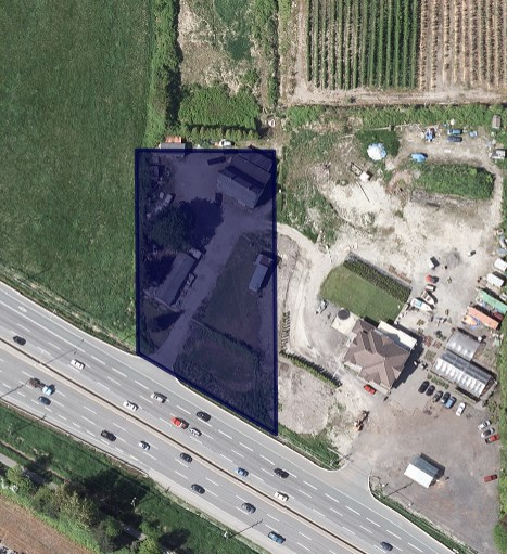 A1 - general agriculture zoning. Property has many uses, check with city. 1.115 acres in a very visible location.