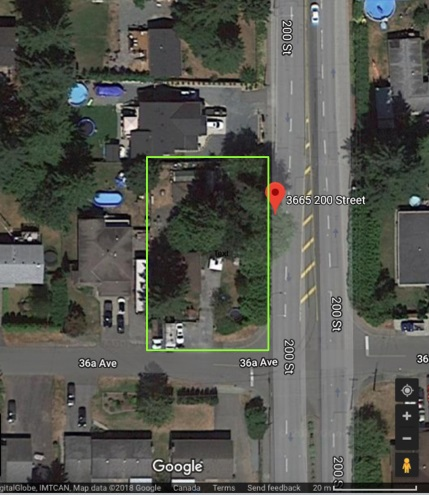 """Looking to build your dream home in Langley? Check out this 10,997 soft FLAT lot! Egress from 36A. Connected to city sanitary sewer. Lot comes with a 4 bedroom older home on it and detached single garage/workshop. Plenty of space for parking & storage. Move in, rent out, or tear down. Offers as they come. House is """"As is, where is"""". Call Jim now to view!"""