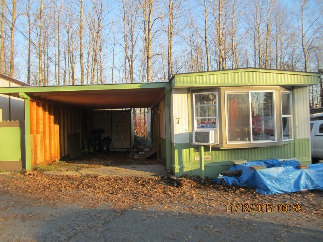 RENOVATED 14x64 Manufactured home at The Grove Park in Mission-Great location-55 plus. A few small things to be completed but the list of new is huge. Just placed in park appx. 3 years ago. Very bright with large windows. New 14' c 29' carport with metal roof. New 8' x 20' shipping container to be used for storage &/or workshop. The unit has all NEW; roof, hot water tank, furnace, new laminate flooring, vinyl windows, doors, appliances, fridge, stove, washer dryer. Why move into an apartment when  you can have your very own space. Call for a viewing.