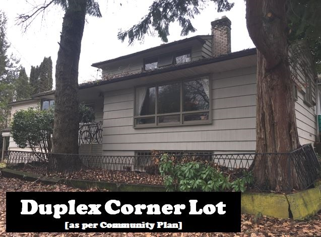 BUILDING SITE: Designated at duplex in the Community Plan.  Quiet street and corner lot directly across from Garden Park tennis courts make this an invaluable lot. Located in Grandview [East Vancouver] area, it has close proximity to schools, shopping and transportation.  The property is tenanted and showing by appointment. All measurements approximate only and to be verified by the buyer if deemed important.Property being sold in as is condition