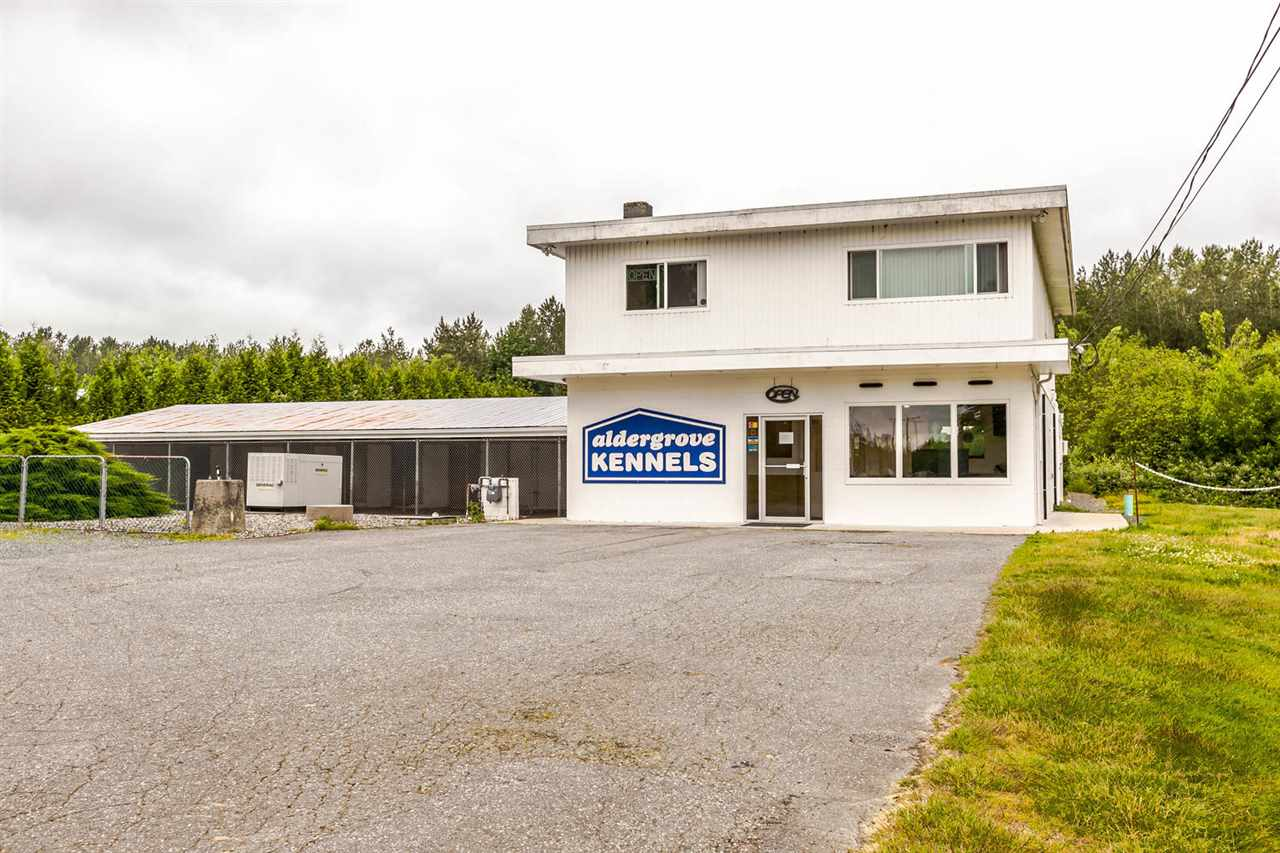 6.83 AC in a high visibility loc w/excellent freeway access, this property has a 50 yr track record as a Licensed Commercial Dog Kennel & Retail/Wholesale Pet Food & Supplies. Top of the line conc blk facilities including a retail & office area, cattery, grooming rm, lge training rm, kit, laundry & 46 kennels w/access to cov, exterior runs off of each kennel. Heated facilities & quality HVAC & air filtration system to eliminate odor & dust. Emergency generator. 1275 sf, 3 bdrm suite up w/updated kitchen. Updated roofs & windows. Mobile home pad & opportunity to build a home. Step into a top of the line kennel w/prospects to generate terrific income or super investment opportunity w/prospects for significant revenue.
