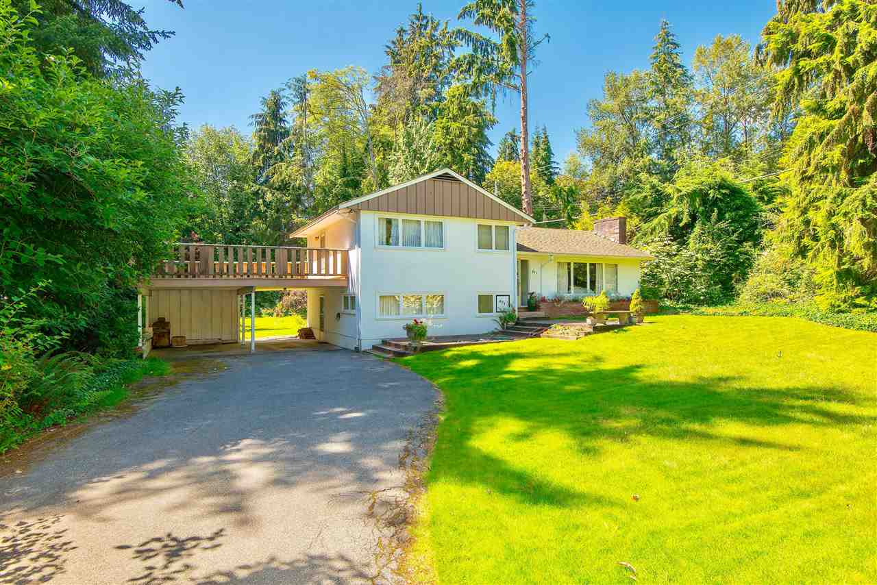 DEVELOPMENT OPPORTUNITY! Spectacular 20,908 sq.ft. level estate in the Lower British Properties at the end of a quiet cul-de-sac. Solid split level residence with approx. 2,285 sq.ft. traditional floorplan featuring entertainment-sized living & dining rooms, large picture windows, generous sized family room, kitchen, private office downstairs & 2 guest bedrooms. This gorgeous property offers complete privacy, a sunfilled exposure, has easy, level access & is minutes to schools, Capilano Golf & Hollyburn Country Clubs.  A fabulous opportunity to acquire a development property to build your own custom residence or use the existing residence as a rental investment. Strictly by Appointment! DO NOT WALK PROPERTY!