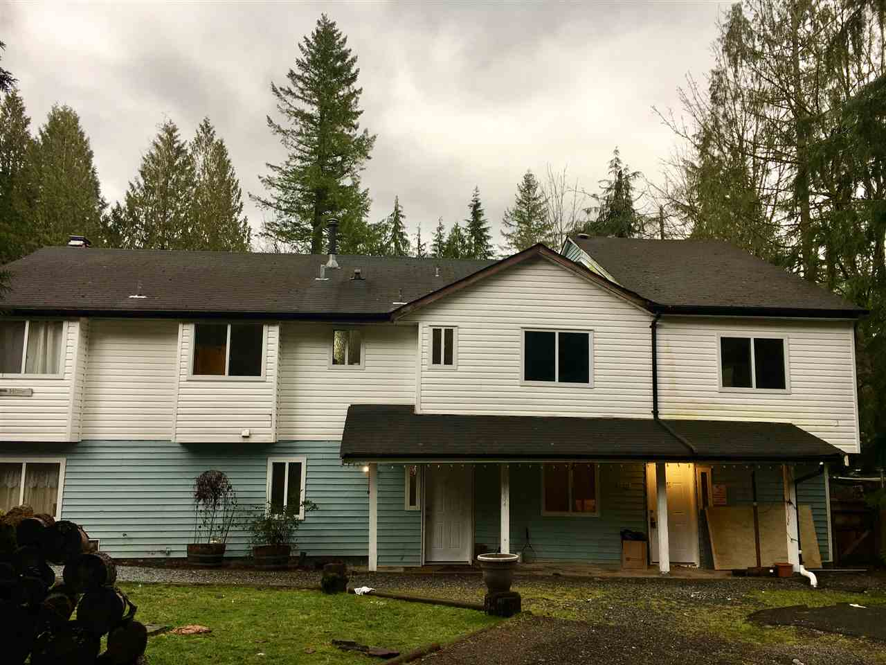 Large Stave Falls home between Maple Ridge and Mission on good sized .3 acre lot. Drilled well. Needs renovation. Being sold as it. Opportunity here.