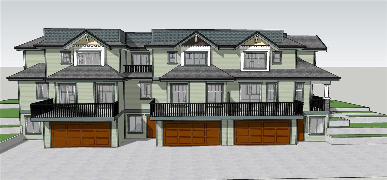 DEVELOPMENT OPPORTUNITY...Renderings for 3 TOWNHOMES (Tri-Plex)...2500 sq/ft each unit, 3 bedrooms and 4 bathrooms with garages...CALL FOR RENDERINGS.