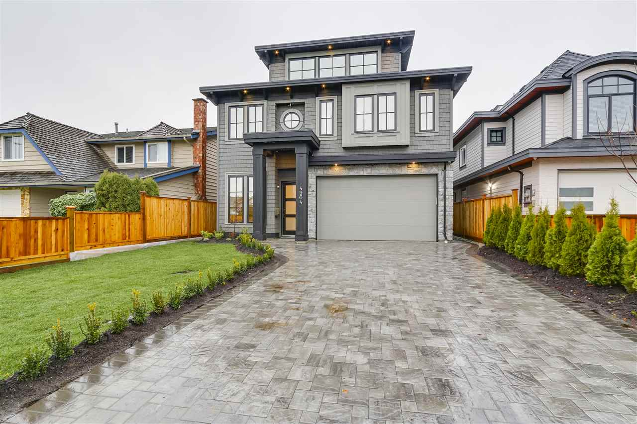 Custom built brand new 4,000+ sq.ft, 5 bedrooms + office home in prestigious 'Boyd Park' neighbourhood. Loaded with extras, including extensive master bedrooms with spacious ensuites with soaker tubs, media room with wet bar, high end stainless steel kitchen appliances, wok kitchen, high ceilings, air conditioning, HRV and more. Close to all levels of schools, West Richmond Community Centre and Seafair shopping mall.