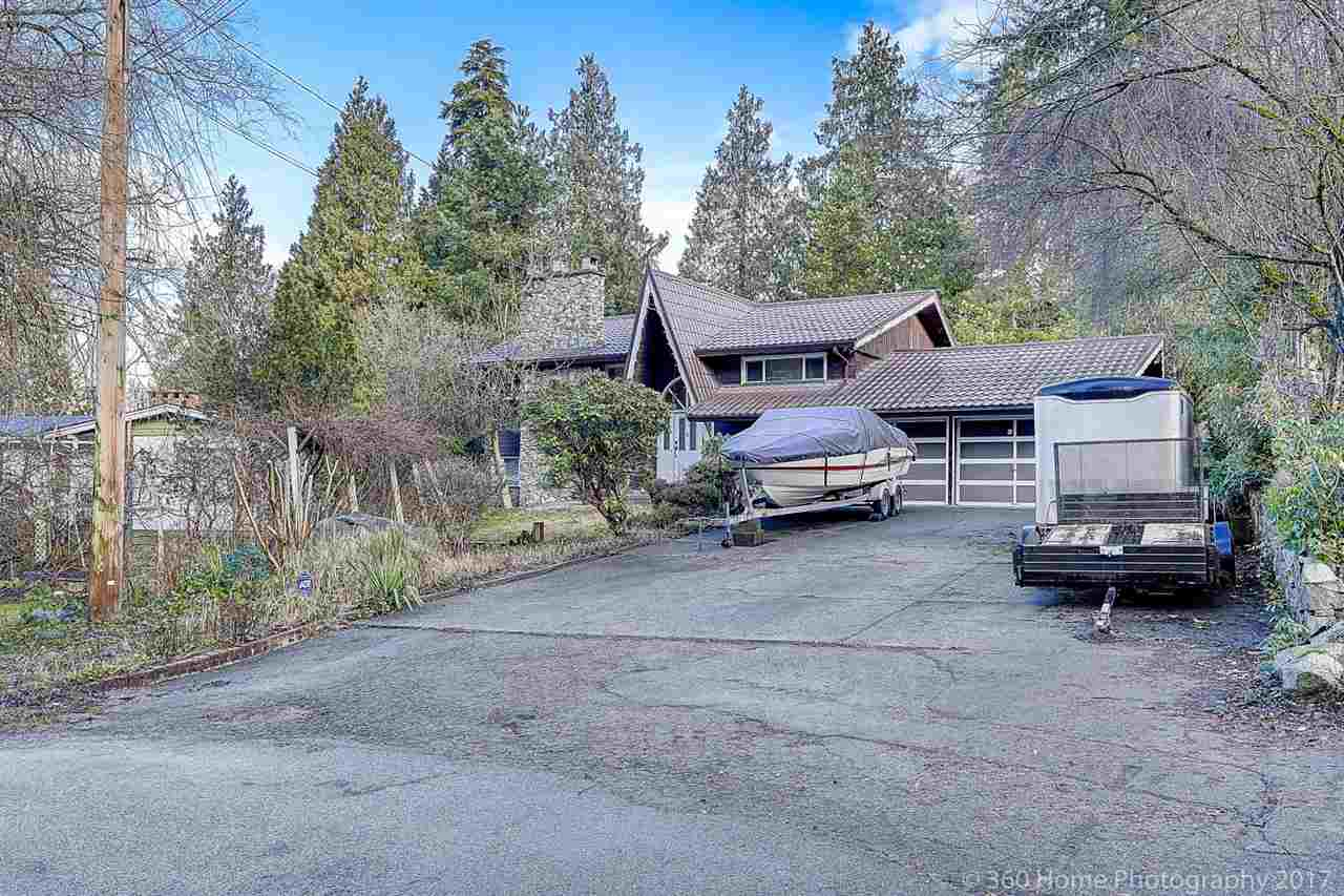 Unique,custom,quality built home in Annieville on 54,450 SF big lot. Large backyard sloping to ravine and creek. Lot of privacy and some view of Fraser River,city lights and mountains.Large covered deck with landscaped yard and hot tub. Over-size driveway with double garage. New metal roof,new windows,new hot water heater,close to Elementary school, Comfortable sized home to live or hold. Good chance to invest.