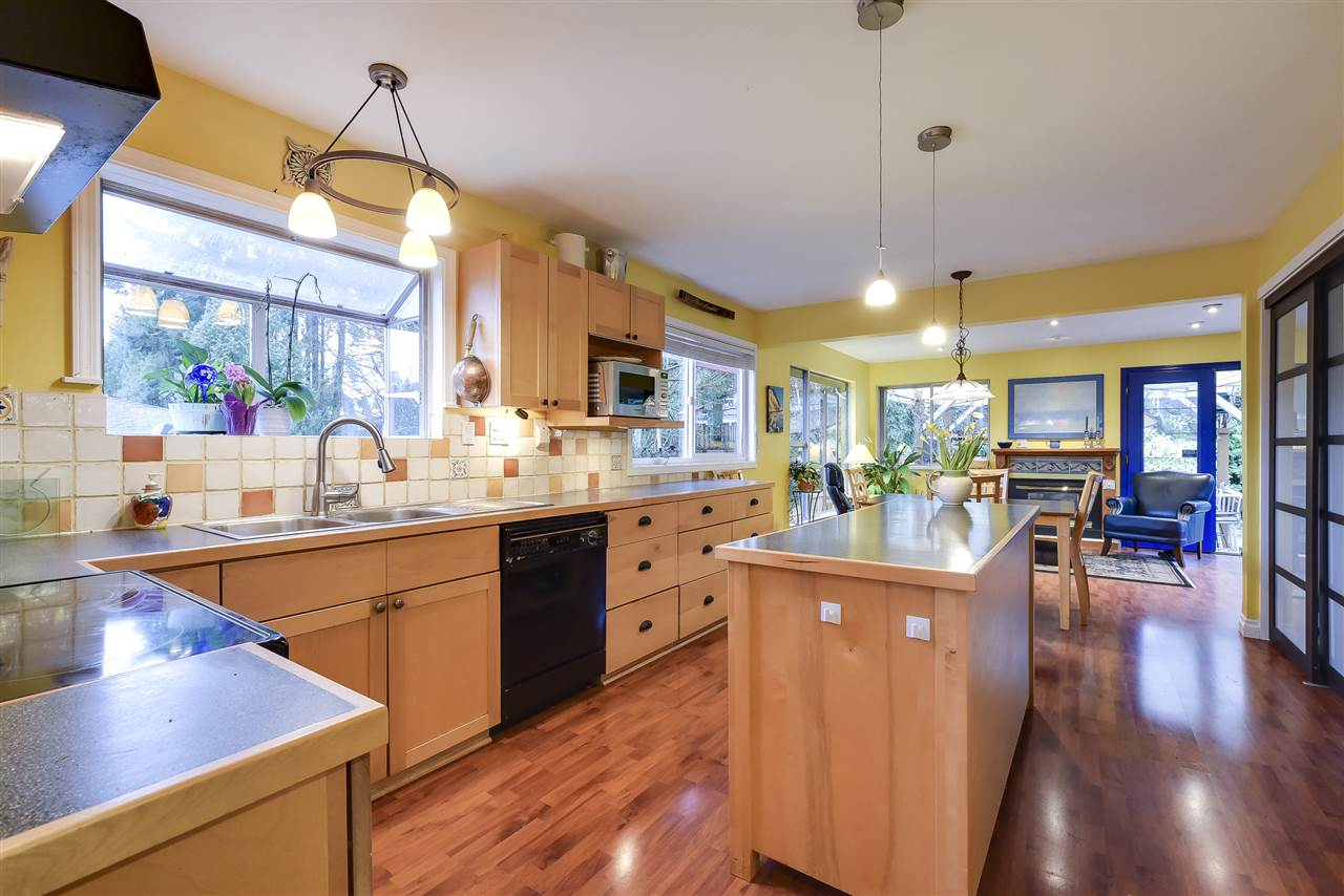 A truly special home! Nestled on Tsawwassen's highly desired Dennison Drive, this 5 bedroom family residence exhibits undeniable charm and offers over 2,900 sq.ft on a large 75' x 120' (8,990 sq.ft) rectangular lot walking distance to elementary & secondary schools, parks, transit & countless local amenities. Enjoy the open concept kitchen w/ cozy family room addition leading to a private entertainer's deck & large south facing backyard w new fence and inviting hot tub. Other updates incl newer bathrooms renovations, vinyl windows, high efficiency furnace, HW tank, stainmaster carpets, door trims, crown mouldings & baseboards, storage shed, professional landscaping and more! 3 bedrooms up and 2 down with option to suite if desired. Double garage with bonus shop space. Act fast!