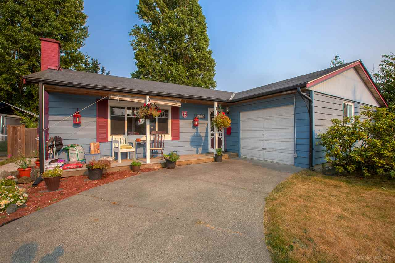 TASTEFULLY RENOVATED rancher style home, in a FAMILY ORIENTED neighbourhood! This, well cared for, 3 bedroom, 1 bathroom house features UPDATED kitchen & bathroom, engineered hardwood & fresh paint throughout, double pane windows, LARGE fenced back yard, & RV/boat parking at the front. GREAT LOCATION, just minutes from Hawthorne Elementary, Delta Secondary, Ladner Leisure Centre, Delta Hospital, grocery shopping, the new Tsawwassen Mills shopping centre, & tons of great little restaurants. Only a short 20 min drive to Vancouver via HWY 99. Great starter house for a small FAMILY, BUILDERS, or INVESTORS looking for rental income.