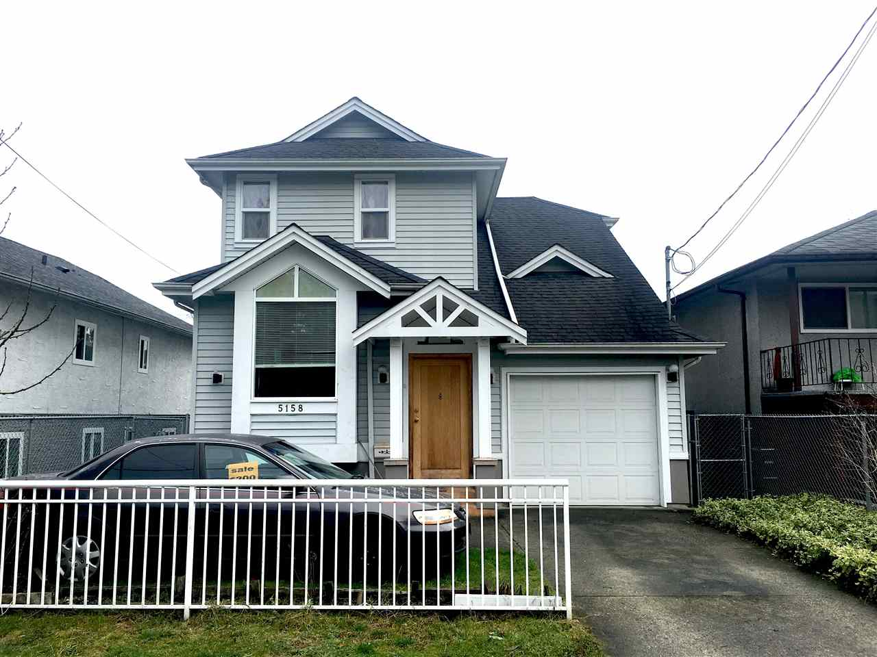 Only 18 years young well kept 3 Levels with 5 bedrooms, hardwood flooring, gas fireplace. Close to skytrain station, schools, and Kingsway shopping. Property good for development or land assembly, RT-11 zoning in the Norquay Village neighbourhood. Measurements approx., buyer to verify.