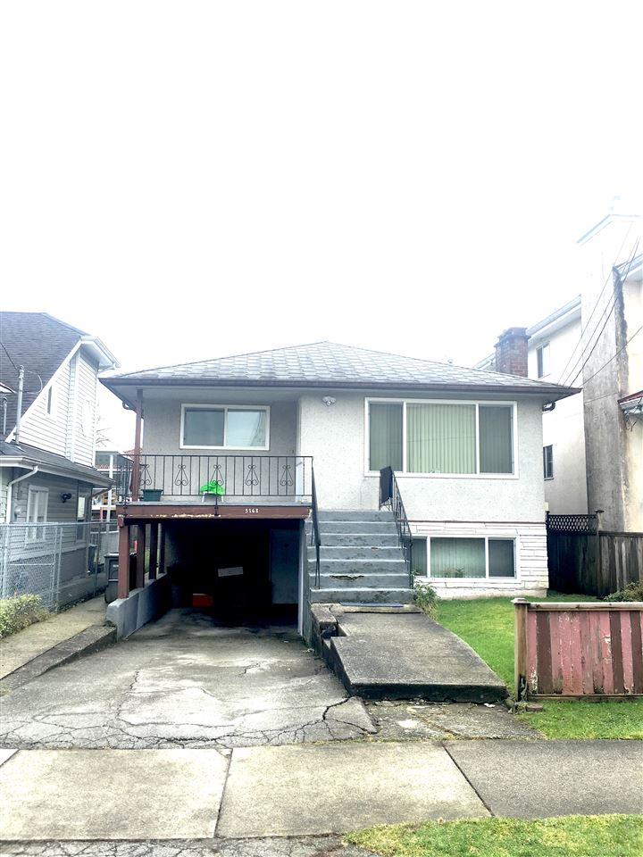 Livable solid bungalow with 5 bedrooms, hardwood floors throughout, good property for development or land assembly, RM-9A zoning in the Norquay Village neighbourhood. Measurements approx., buyer to verify. Close to skytrain station, schools, and shopping.