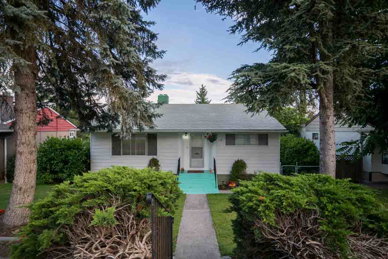This 1950's charmer is set on a 52' x 132 square foot lot on a quiet street in a great neighborhood location. The living room offers a warm and welcoming appeal with hardwood floors and a cozy wood burning fireplace.  There is a bright, spacious eating area and the kitchen overlooks the backyard. The lower level offers an updated, above ground one bedroom suite with separate entrance - a great little money maker.  There is a detached garage and outdoor workshop with lane access, and all just a short distance to Downtown New Westminster, Queen's Park and walking distance to good schools including Herbert Spencer and Ecole Glenbrooke Middle School. Good investment value here!  Call for details - showings are limited.