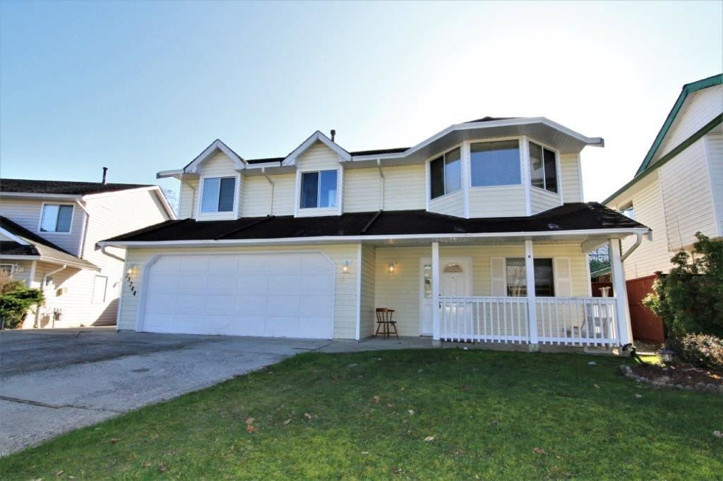 Fantastic location and lovely basement entry home with 4 bedrooms & 3 baths on a large 6267 sqft fenced lot with RV Parking.  Perfect for a large family, mortgage helper or an investment, your choice.  Offering 3 bedrooms/2 baths on the main with a 1 bed/ 1 bath in-law suite with a separate entrance.  Minutes to all levels of schools, parks, a short drive to shopping, recreation, arterial routes and West Coast Express.  Great workshop with heat and power, low maintenance yard, OPEN HOUSE SAT/SUN FEB 17/18 2-4PM