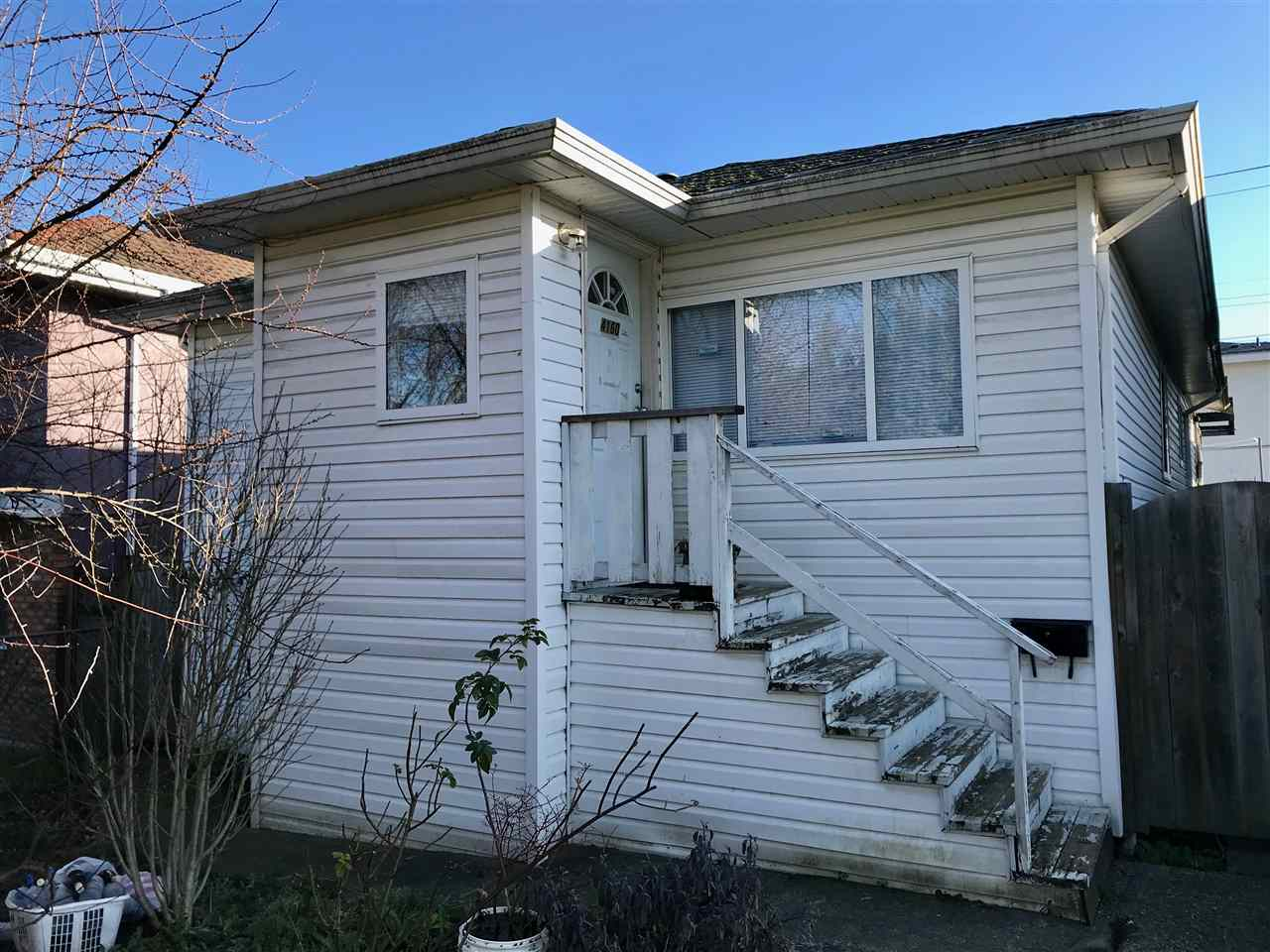ATTN: first time buyers/investors/builders. Investment house on level lot located in desirable Burnaby Hospital Area. Great layout with 3 bed/ 2 bath and big living room and kitchen on main.  2 self contained suite of each 1 bd/ 1 bath in basement are great mortgage helpers. Shared laundry.  Quiet inside with double glazed windowsand new furnace . Large covered sundeck in rear yard with detached garage + covered carport. Some TLC and elbow grease will make this  property shine. Cascade Heights Elementary school is 1 blk away. Measurements are approximate, Buyer to verify if deemed important. Showing by appointment only.
