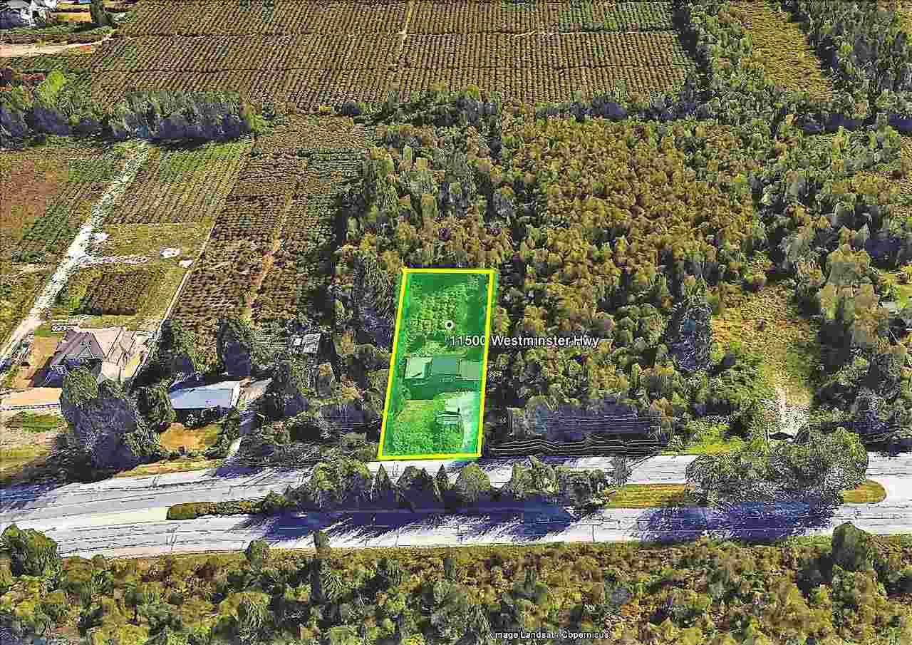PRIME LOCATION TO HAVE YOUR DREAM HOBBY FARM. 0.5 acres zoned AG-1 Frontage 84' x 258' Central Location close to shopping, recreation, golf, transit, Hwy 99, Knight Street, connector to New Westminster or Alex Fraser Bridge to Surrey. School catchment is Henry Anderson Elementary an A.R. MacNeill Secondary. Sold as is where is. Value is in the land.