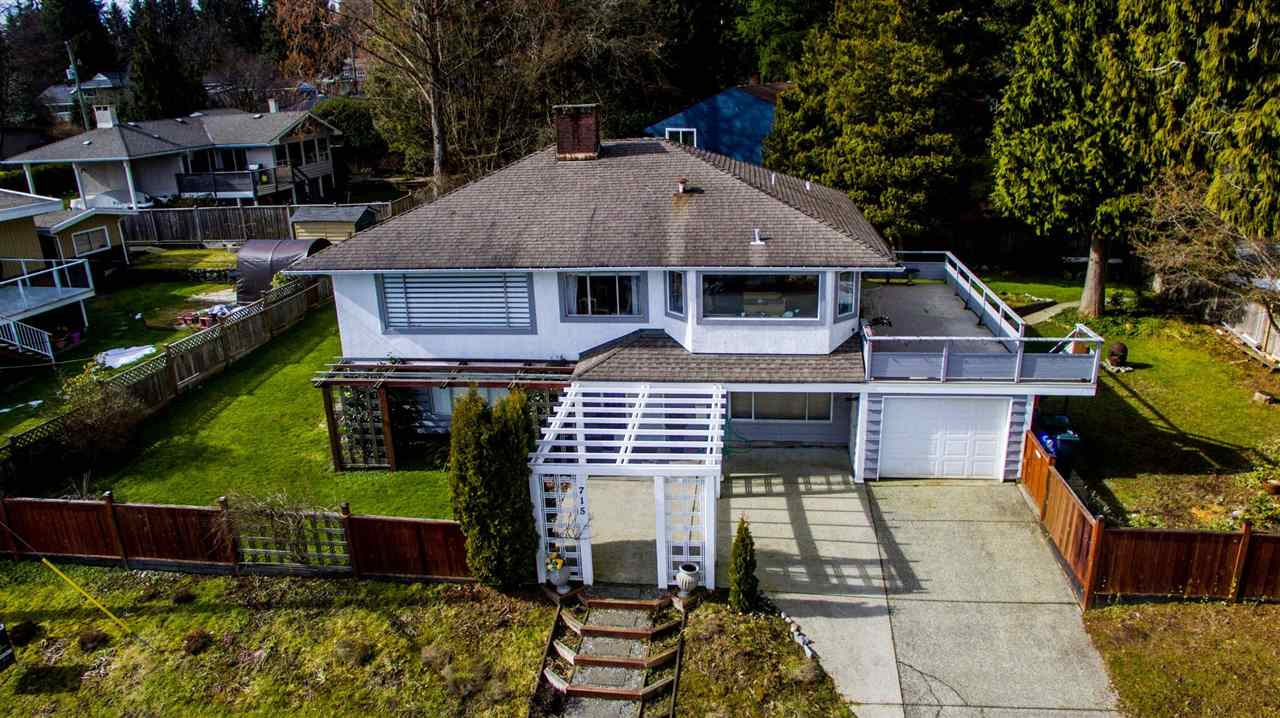Dollarton dreaming? Check out this ideal family home in one of the nicest neighbourhoods in all of North Vancouver. Situated on a large, bright corner lot with it?s inspiring ocean and mountain views and on a whisper quiet street where children can play in safety. The home shows very well with three beds up and a one or two bed suite down offering flexibility for the growing family. The large level fully fenced yard is perfect for children, pets or the avid gardener. An easy walk to Sherwood Park Elementary (French Immersion) and the many conveniences of Dollarton Village Shopping Center. Close to Deep Cove, Cates Park, golfing, skiing and hiking trails. This is the lifestyle your family deserves. Open Sunday April 29th 2-4.