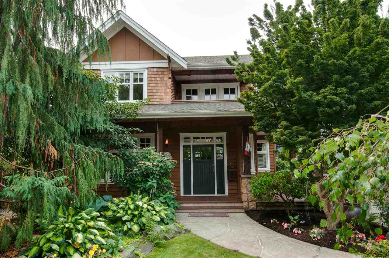 Beautiful Custom Home in sought after Ocean Park! Stunning tree lined streets welcome you to this family neighbourhood just steps to the beach and walking distance to Crescent Park Elem/Elgin High School. Incredible construction, Brazilian hardwood decking, Fir hardwood flooring from trees on the original lot & soaring 20ft ceilings in the great room! Convenient master on main w/steam shower & separate laundry. The lower level is great for an active family w/3bedrooms, 2full bathrooms, laundry, recreation room, tons of storage & suite options. The Carriage house was built with health in mind featuring a therapeutic salt water pool, hot tub, exercise area & full washroom. High end heating systems, heated double garage w/workshop, outdoor fireplace. This amazing home must be seen!