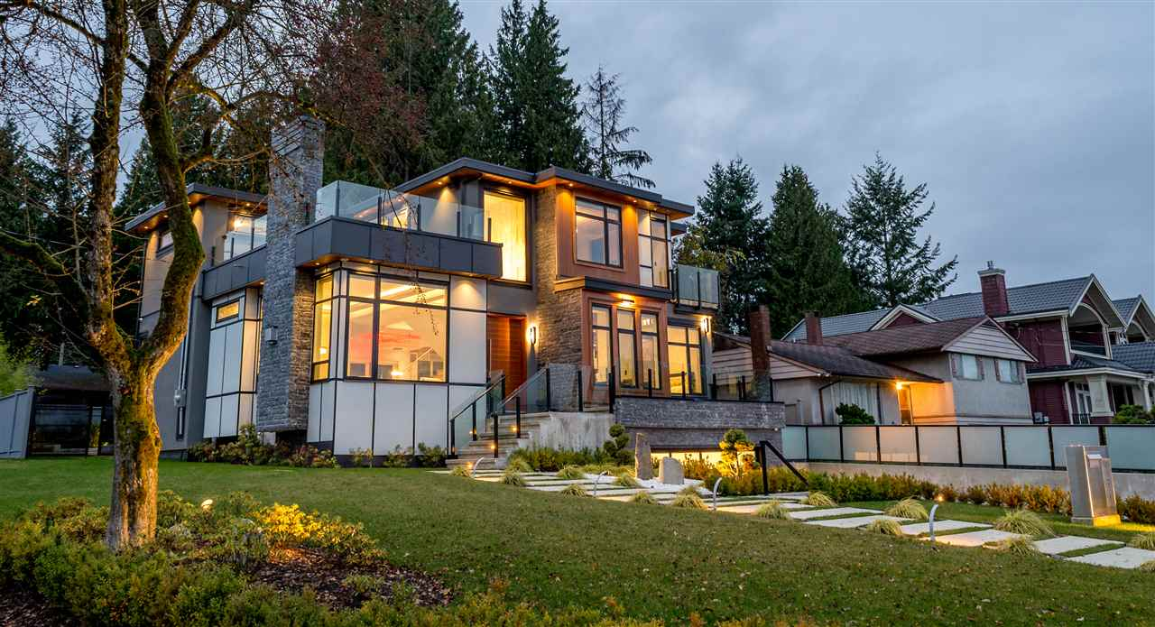 Your dream home awaits in the Most Prestigious & Highly Desirable Deer Lake neighbourhood. Expect nothing but the absolute best in this Sensational Contemporary residence which tastefully blends living spaces with the outdoors allowing you to be at one with nature. Form and flow were taken into careful consideration from concept to completion, courtesy of one of Vancouver's premier firms Paragon Design Group. Wake up to perfect Mountain Views in this 7 bed/ 7 bath luxuriously appointed estate. Enjoy the ULTIMATE Chef's kitchen featuring Top of the Line Sub-Zero + Wolf appliance package & additional Chinese Kitchen. Dazzling array of Integrated smart home features, Automated lighting/sound/window shades, Home theatre, Sunken fire pit and Rooftop deck make this home an entertainers paradise!
