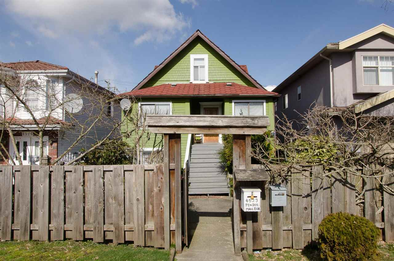 Good Investment opportunity; Solid old charm  house. Fully finished 3 levels house with upgrade wiring and plumbing by previous owner.  4 baths and 3 kitchens. Good tenants want to stay.  Close to school, bus, park, pool, library and shops. Measurements are approximate. Buyer to verify.