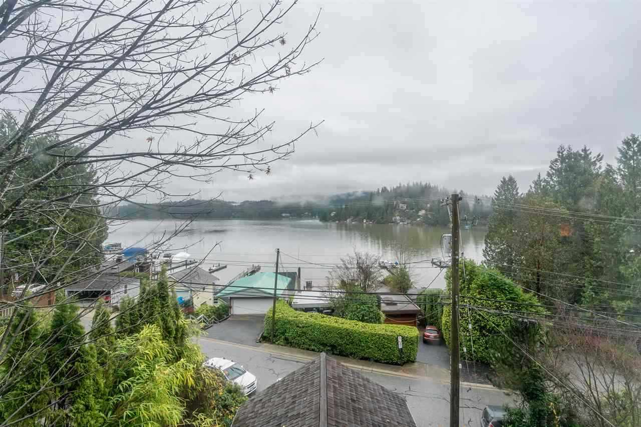 Amazing home with PANORAMIC ocean views in one of Deep Cove's most coveted locations. The perfect starter home for a growing family, this charming home offers over 1700 sq ft over 3 levels. Open concept floor plan on the main stretches from the entertainers kitchen to beautiful French doors leading to your private oasis in a fully fenced backyard. Spacious master bed & bath above and additional bed and den below. Floor to ceiling windows maximize the view from every level. Experience all that Deep Cove has to offer, just steps away from local shops, world class hiking trails of Quarry Rock, family friendly beaches, an outstanding dock & trendy restaurants.