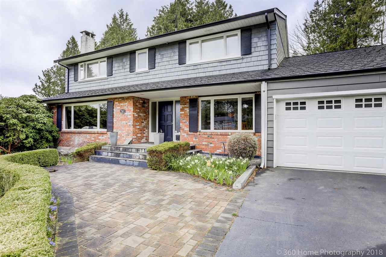 Located in Bayridge, this 3,500 square foot home is situated on an oversized 14,300 square foot lot (93ft x 138ft). This 4 bedroom and 2.5 bathroom family home has been very well maintained.Enjoy gorgeous southern OCEAN VIEWS from Point Grey all the way to Vancouver Island with NO POWER LINES. This is the perfect investment property in the very HOT Bayridge neighborhood. Hold and rent this well maintained and clean home or rebuild a luxury ocean view estate. Truly an incredible opportunity to live in this fantastic neighborhood in the West Bay Elementary and Rockridge High School catchment.