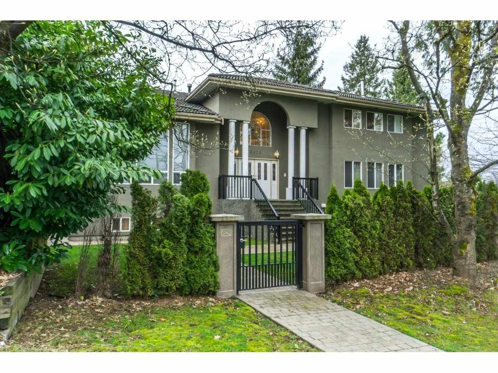 Situated on a 11,225sq ft lot in the heart of Buckingham Heights, Burnaby, this Fantastic Estate property is a roomy 6,044 sqft  & features impressive 17 ft ceilings in foyer on main, spacious formal living, dining & great rm area.& bonus office & add. bedrm/den area. Upstairs boasts 4 oversized bedrms, 4 bthrms & recently reno'd ensuite. Downstairs offers fully self-contained basement suite with over 2000 ft.² of living space, & quality finishings  inc. 1 massive bedrm, 2 full bth, wet bar, i/r sauna , ensuite laundry & separate entrance. (perfect for extend fam. or mortgage helper.) Backyard showcases a private stamped concrete patio w/retaining walls ideal for entertaining Min. to Metrotown & all other amen. Centrally located to everything. Dble garage w/ prking pad for 8 cars or RV.