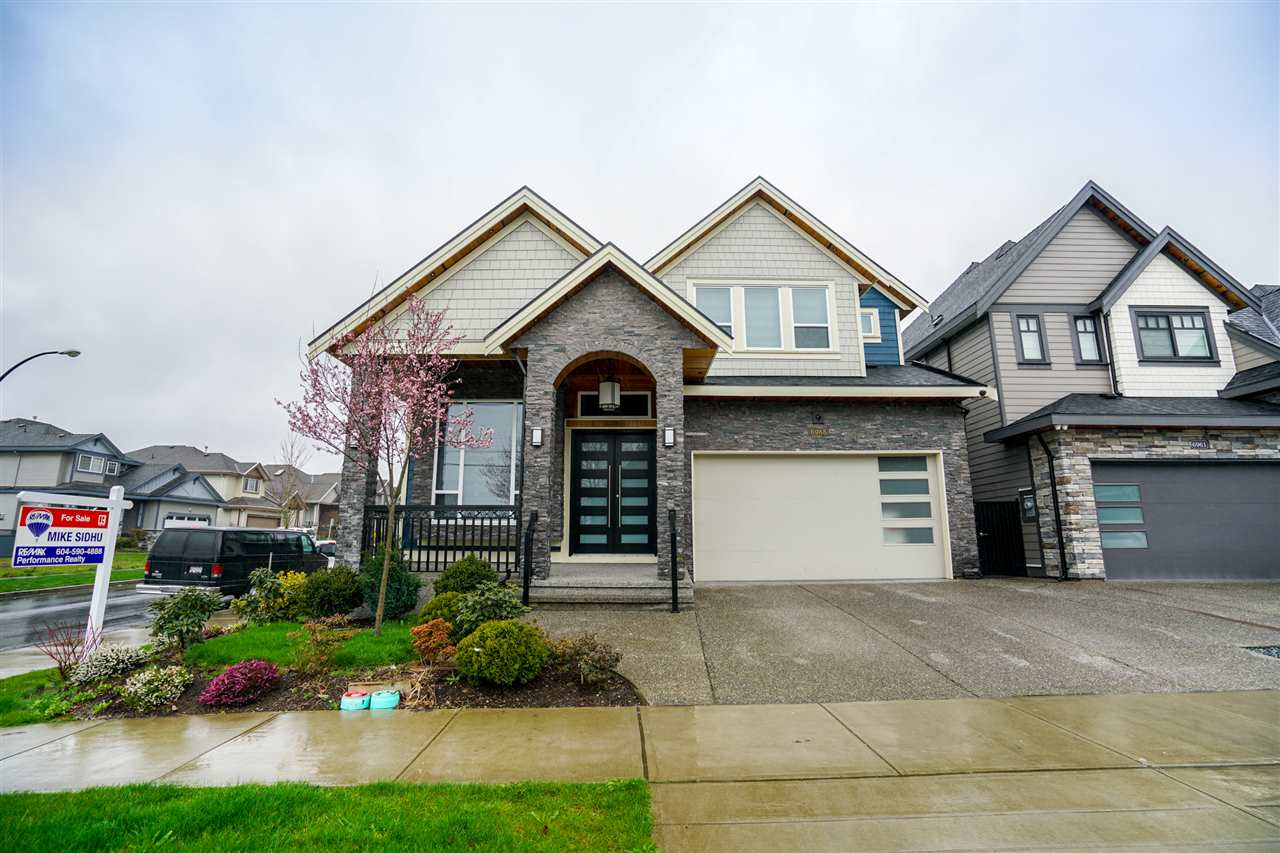 Executive 3 level 4870 sq ft custom home features 8 bed/ 7 baths /living & family room / rec room plus open concept kitchen, stainless steel appliances with spacious spice kitchen. Vaulted ceilings throughout the home. Main level features high ceilings with open concept perfect for entertaining guests & family. Upper level greets you with 4 spacious bedrooms & 3 full washrooms. Bsmt includes theatre room, bar, 3 bedrooms and 2 full washrooms.  3 bedroom suite rented as a mortgage helper.  Stay cool in summer with A/C built in.  Comes with 2-5-10 warranty.  Home built in 2016.