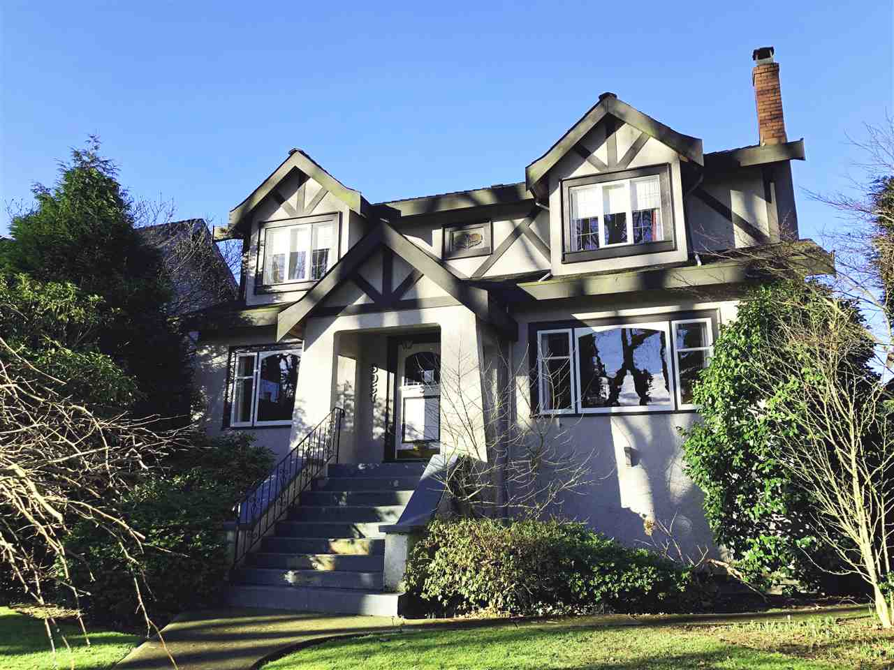 This home is located in 1 of the most prime locations on the Westside of Vancouver w/close proximity to Mackenzie heights shops and local private schools. 50 X 130.25 lot allows for plenty of space to spread out. It has a traditional layout w/ cross hall floorplan feat. formal living, dining room, kitchen & den also powder room on the main. Plenty of original charm including refinished oak-inlay floors, coved ceilings an overall feeling of warmth when you enter the home. Upstairs has 3 spacious bedrooms all w/ vaulted ceilings & 2 full baths including an ensuite in the oversized master bedroom. Downstairs feat. a great rec room & 2 guest rooms and lots of storage. Backyard has a nicely manicured English garden & a 2 car garage. Houses on this street rarely come up for sale, don't miss it!