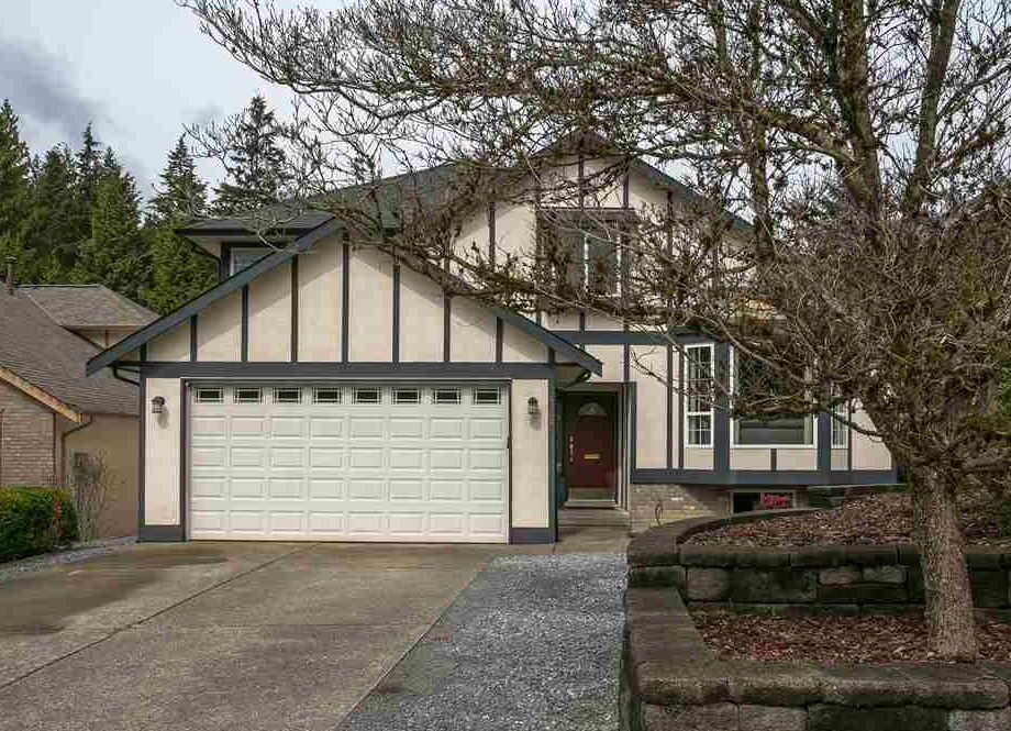 A SPECIAL PLACE TO CALL HOME IN DEEP COVE. A true family home; 4 bed/4 bath springtime fresh on level property nestled in a Cul-De-Sac. Mere steps to Cove Cliff Elementary; South facing & walking distance to Deep Cove; beaches,transit, shopping, cafe's, restaurants, hiking. Formal LR&DR, sunken family room, den/office, full basement ready for a rec room or nanny suite. Huge bright kitchen w/SS appliances and working island. Updates include, flooring paint & bathrooms. Large Master with full ensuite w/soaker tub & walk-in closet. Large bright Bedrooms, fully fenced sun drenched back yard with the added bonus of a covered ground level deck. 2 car garage & parking for camper or RV. I'm proud to show you this home. COME SEE!