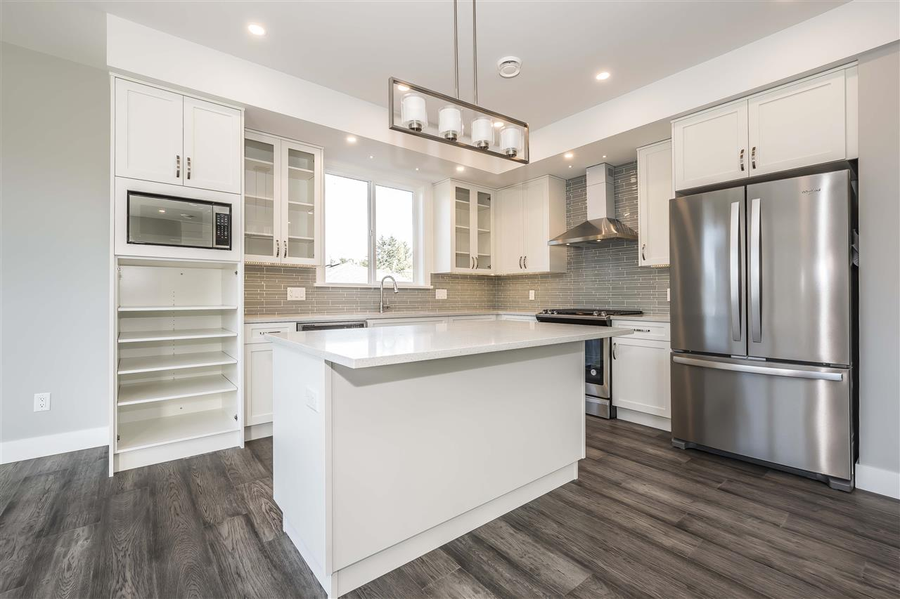 Beautiful 2 storey w/bsmt home in the heart of Sardis. Enjoy almost 3000 sqft of space in an open concept floor plan incl. 4 bdrms, 3 bthrms, expansive great room and bright modern kitchen. Master retreat features generously sized ensuite with separate shower and soaker tub along with large balcony overlooking the back yard. Home showcases contemporary design throughout including quartz counter tops, sleek modern appliances and elegant finishing. Entertain guests on the main deck off of the great room or stay inside and relax by the cozy fireplace. Unfinished basement is awaiting your ideas. Large double car garage and driveway provide ample parking space. Great family neighborhood close to parks, schools and shopping.