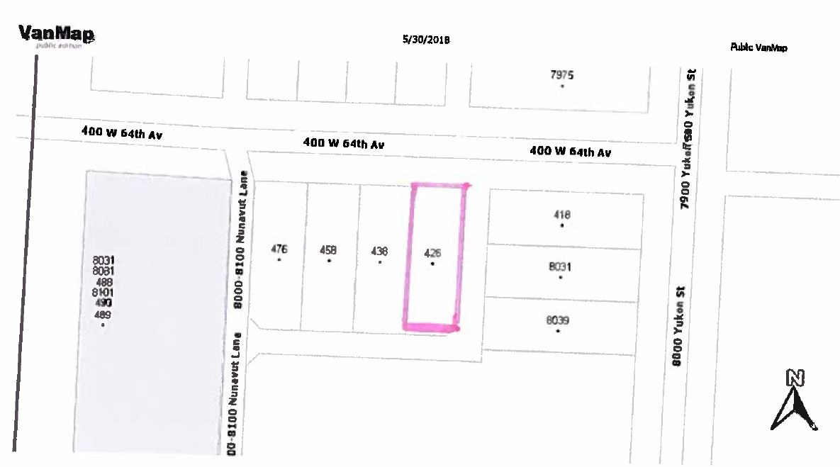 Developers and Investers alert ! Marpole Community Plan Development Site. Land Assembly site. Potential 6-story condo up to 2.5 FSR.