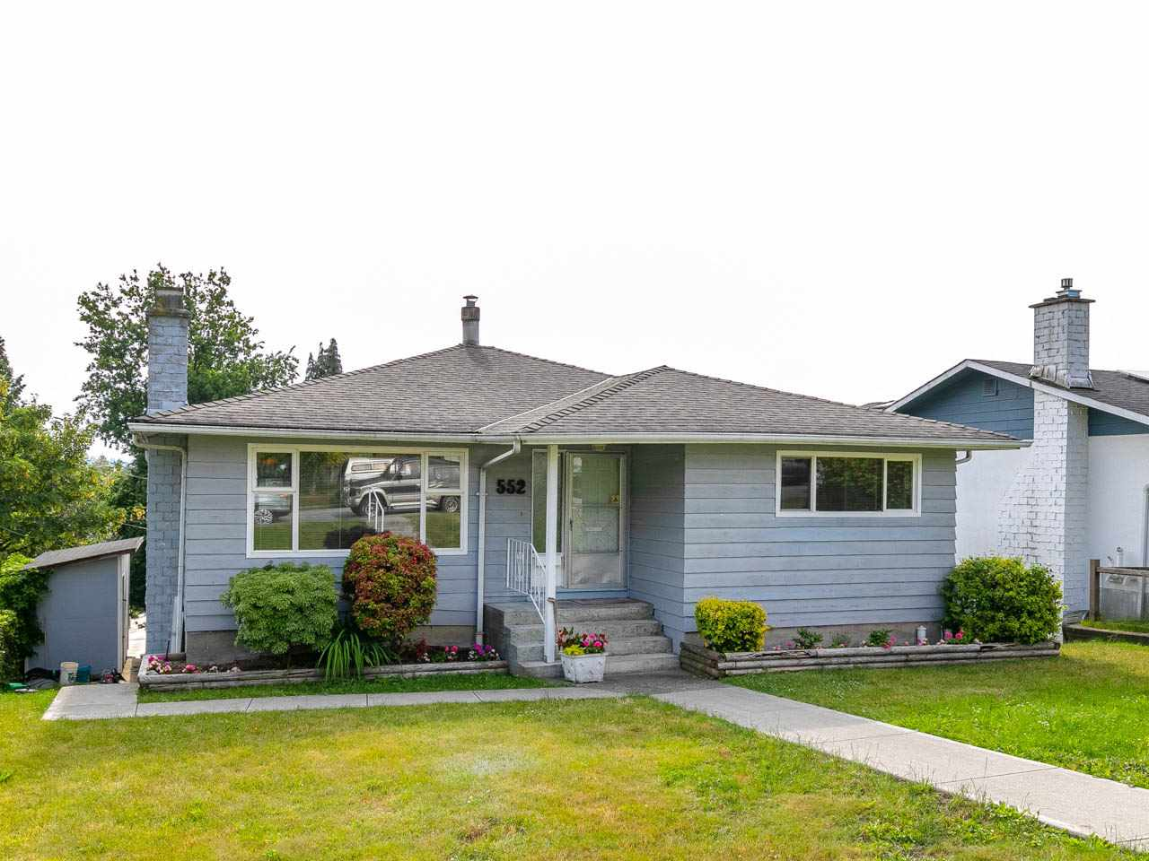 Excellent bungalow with five bedrooms and 3 bathrooms. Legal suite downstairs plus a bedroom and family room for upstairs use. Move in condition, renovated home with brand new bathrooms, sundeck, pot lighting, doors, fence, hot water tank as well as newer kitchens, newer windows, 9 year old roof and hardwood floors. Lovely view of Mount Baker. Priced below assessed value.