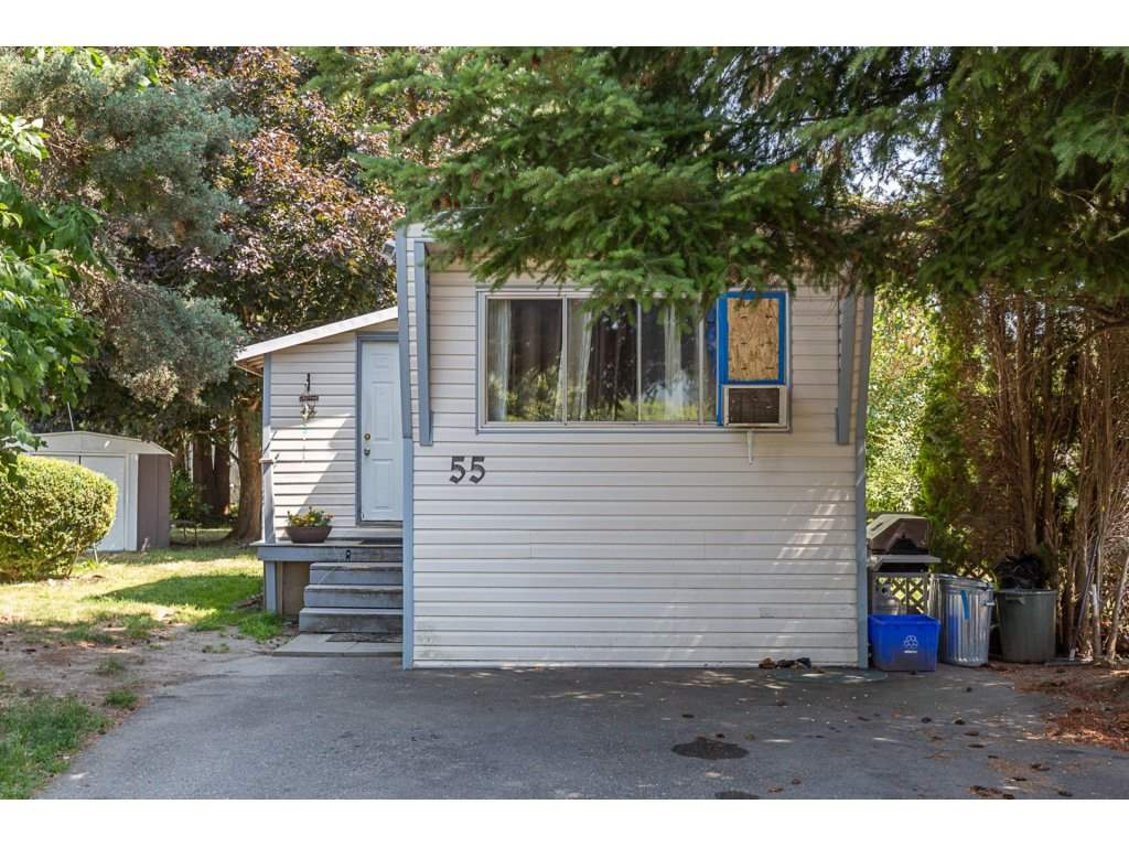 Check out the nice big yard around this well-maintained mobile home on a quiet comer in Westwood Estates! Enjoy your own affordable living space plus the great Sardis location, close to shopping, restaurants, transit, and Cheam Leisure Centre in Garrison Crossing. Roof done about 10 years ago, bathroom renovated about two years ago, and hot water tank replaced last year. Please note, washing machine is broken but can be replaced if buyer requires it. Family friendly park, and one small dog allowed. 9'8 x 8'9 storage shed. Pad rent approx. $600/month. Must obtain park approval with references plus criminal record check.