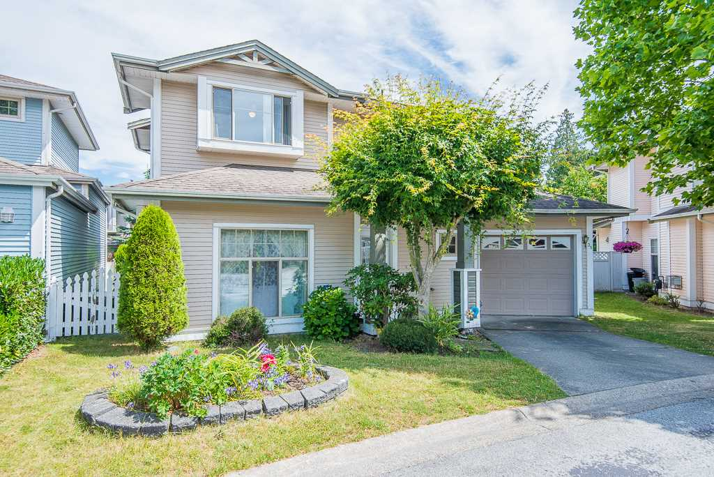 OPEN HOUSE JULY 21st (SAT) 2:00-4:00PM. Welcome to Sycamores! Central location in Walnut Grove, Well maintained, cul-de-sac., this lovely fully DETACHED home boasts a private yard, brand new carpet, brand new LG Washing machine & Steam Dryer, 4-yr Water Heater, 3-yr Furnace. The main floor includes a large master bedroom suite, powder room, living/dining room with a gas fireplace, 9' ceiling, 2 bedrooms & 1 full bath on upper floor. Walking distance to Alex Hope Elementary, Walnut Grove Secondary, Walnut Grove Community Centre, Save-On-Foods.