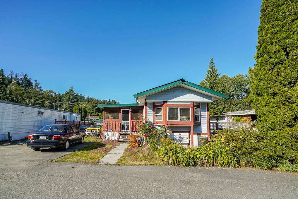 Great deal with this mobile home in desirable mobile park in Mission. Close to Stave and Hayward Lakes with a ton of recreational options nearby. Nice, private, large deck off the side leading to a hot tub. Lots of room for RV parking, detached workshop/garage. This home is awaiting your ideas!