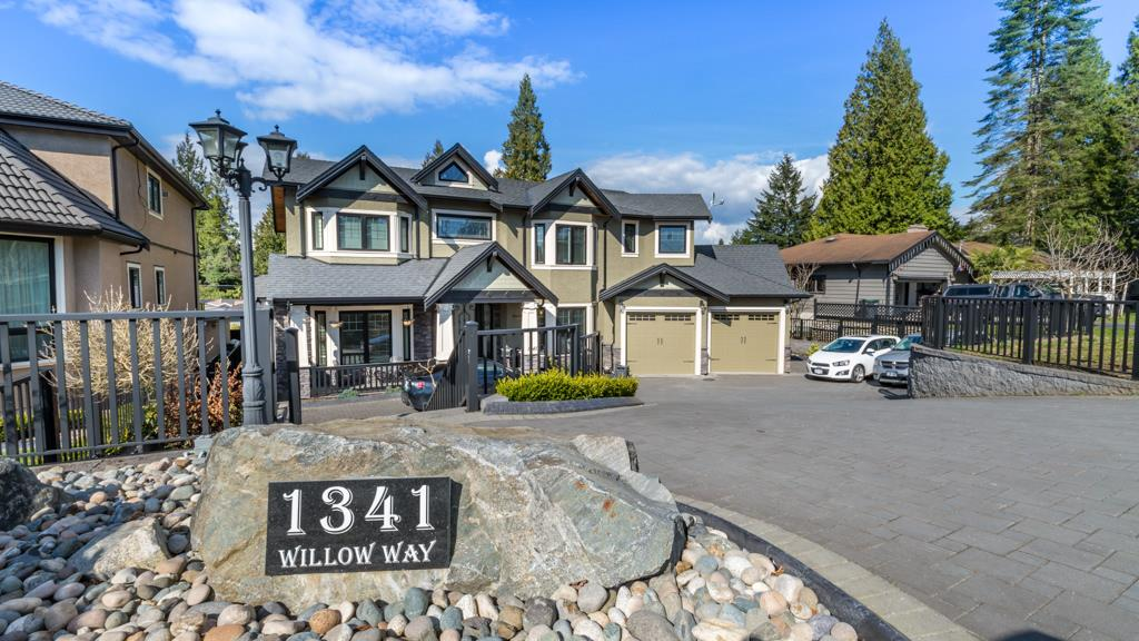 Gorgeous Italian built home in prestigious Harbour Chines area, boasts 6631SF living area w almost 10K SF lot. If you are looking for quality & good workmanship, this is the one. 10 ft ceiling on Main & 2nd flr & 9ft open bsmt. All solid walnut flr thruout. High quality Italian granite counter & expansive Euroline windows. Chef's delight kitchen with pwrful WOLF gas stove, subzero fridge and huge island. Big heated covered sundeck off kitchen. Upstairs offers 5 big bdrms and 4 bath. 2 Master bdrms w jetted tub, separate shower & walk-in closet. Sound proof theatre rm & a self contained 1 bdrm legal suite. Other fts: Central A/C, Goodman heat pump w 3 control zone, lawn sprinkler system, steel entrance door, aluminum panel fence, dbl attached garage at front & detached triple garage at back