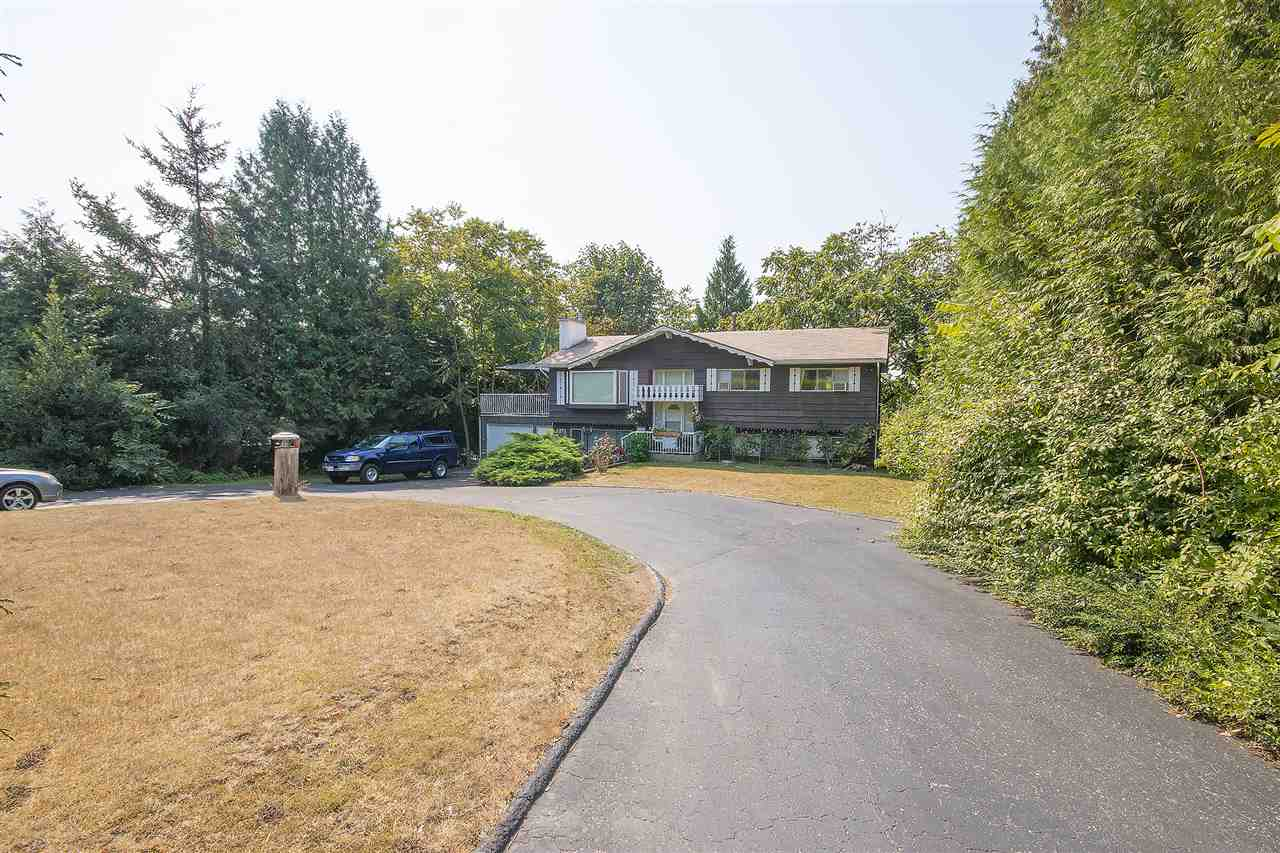 East side of Abbotsford. Great Potential to Subdivide onto 4 lots, property already surveyed seller is in the process of submitting re-zoning application to the City. Rented cathedral entry home on almost 1/2 acre. Circular driveway with tons of parking surrounded by landscaping. Total private backyard with 2nd road access. Very rare find. Tenant would like to stay while waiting for approval.