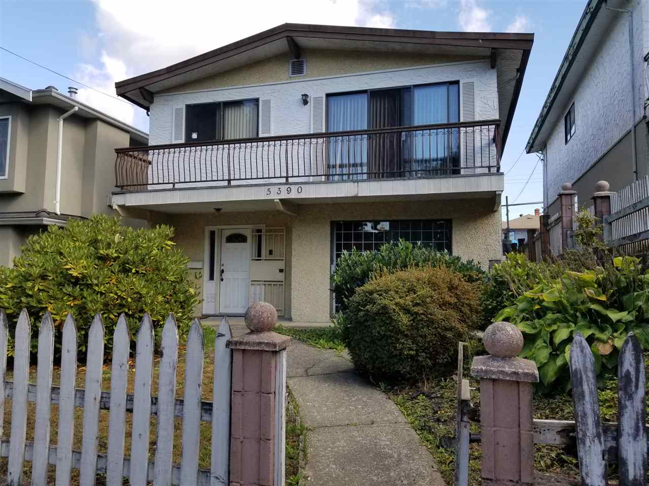 Joyce Collingwood Area. Land Assembly opportunity RM-9BN. Potential to build 4 storey with FSR - 2. Vancouver special. 3 bdrms, 1 + 1/2 bath on upstairs. Below offers lots of accommodation.