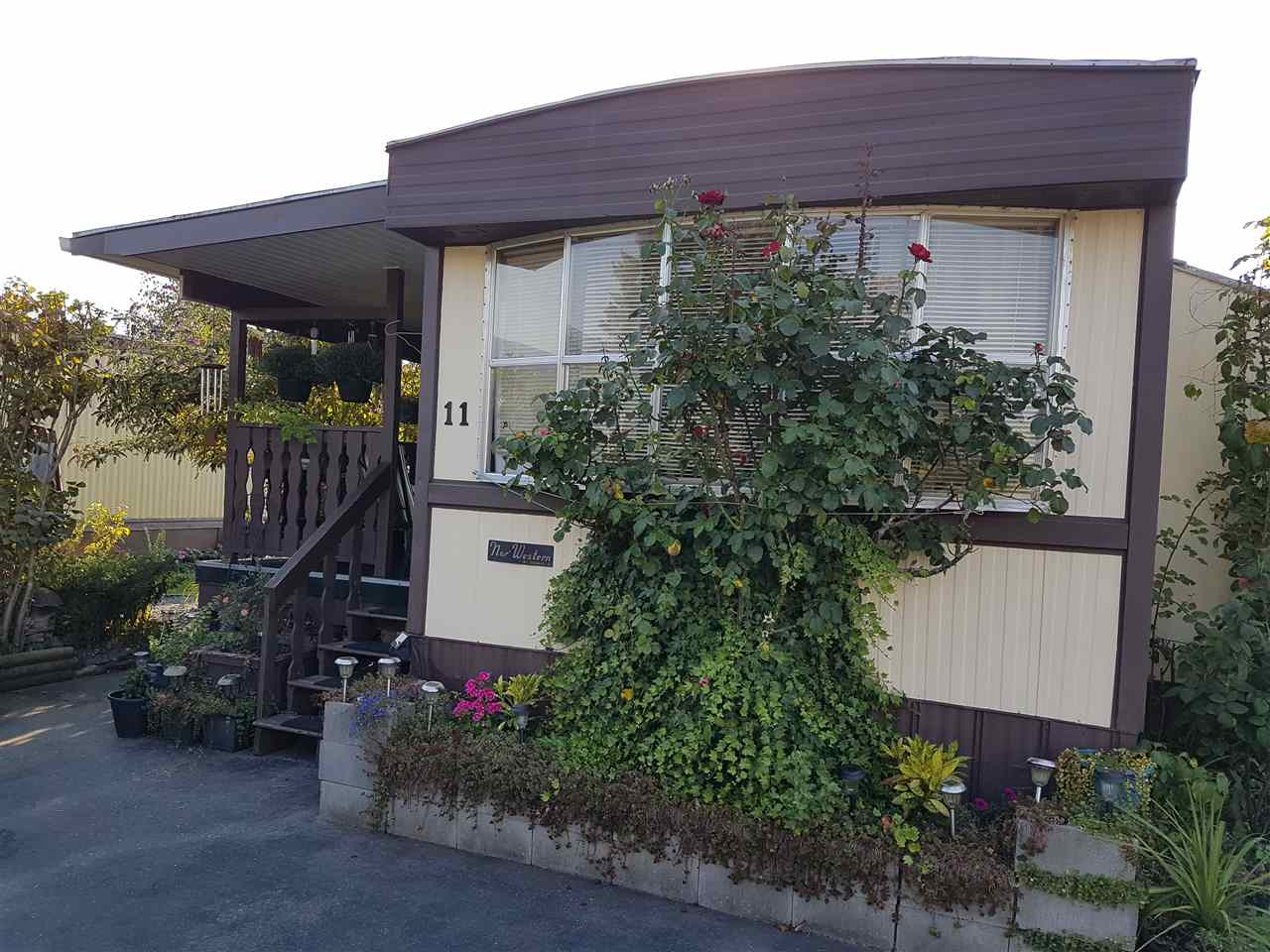Central Sardis location, comfortable and affordable starter home or retirement haven. 2-bedroom mobile home in a family-friendly park close to schools, transit, shopping, banking, restaurants, Garrison Village, and Cheam Leisure Centre. Relax on the sundeck and and garden, with room to expand the yard in the back. New fridge & stove (July 2018), newer roof, furnace and roof done 3 years ago. 3-year-old leather couch and armchair included. Cats or one small dog allowed. Park approval required with references plus criminal record check.
